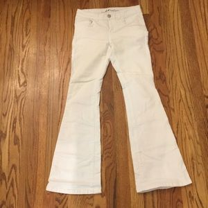 White size 2 INC Casual Pants